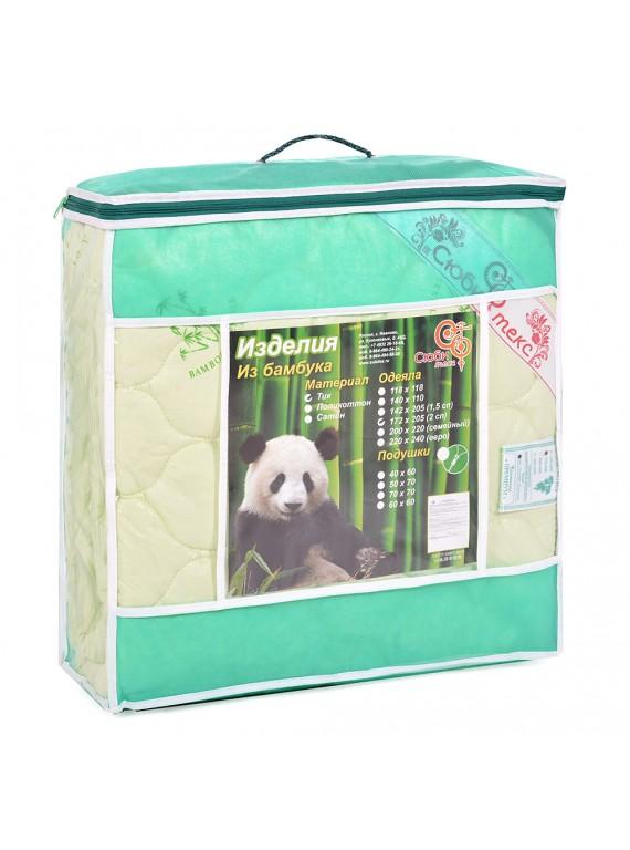Одеяло Euro maxi Бамбуковое волокно 150 гр/м (тик)