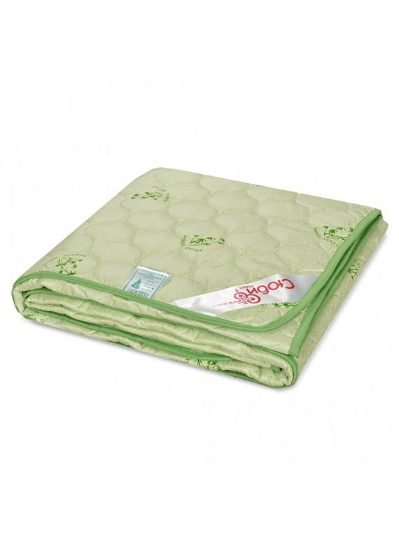 """Одеяло """"Бамбуковое волокно"""" 150 гр/м (тик)"""
