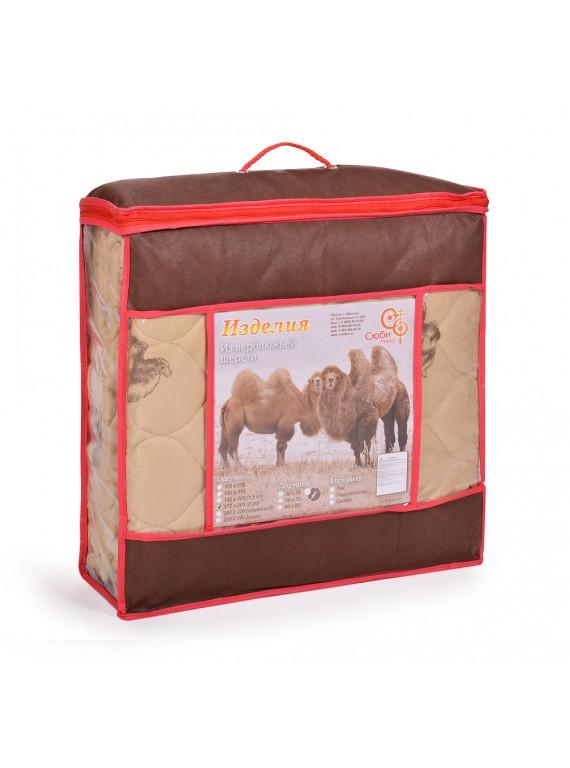"Одеяло Euro maxi ""Верблюжья шерсть"" 150 гр/м, тик"