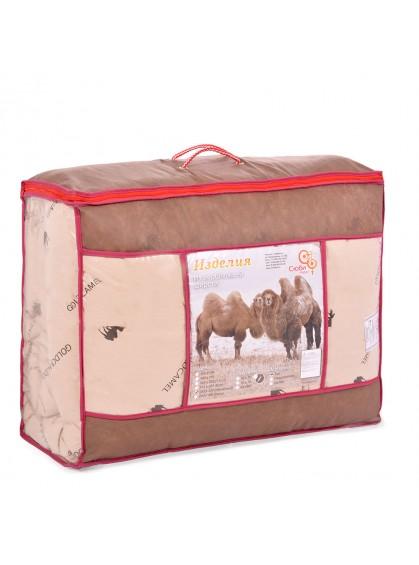 """Одеяло """" Верблюжья шерсть 600гр. Зима"""", тик"""